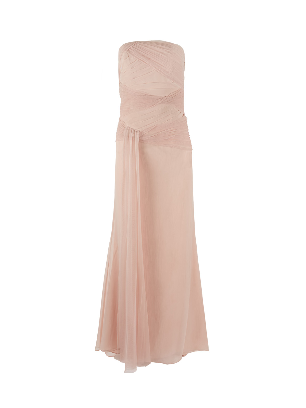 Dirty Pink Chiffon Dress