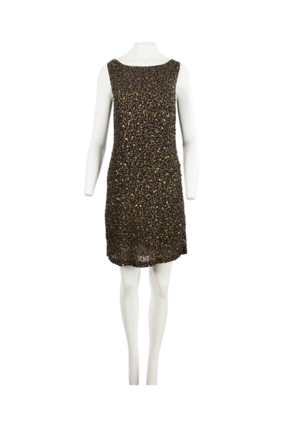 Embroidered Sequin Dress