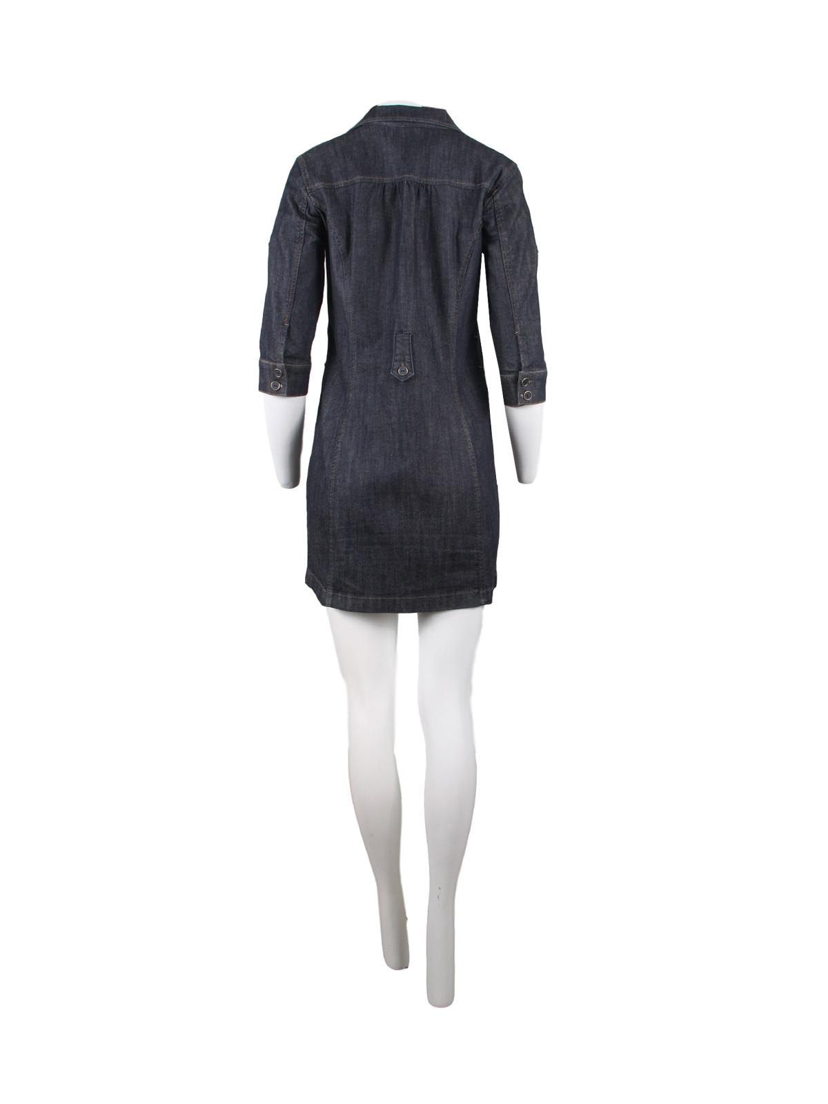 Denim Button Down Shirt Dress