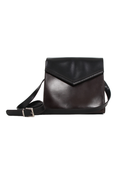Vintage Italian Leather Cross Shoulder Bag
