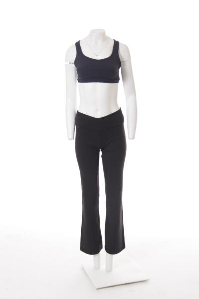 Black High Waist Yoga Pant
