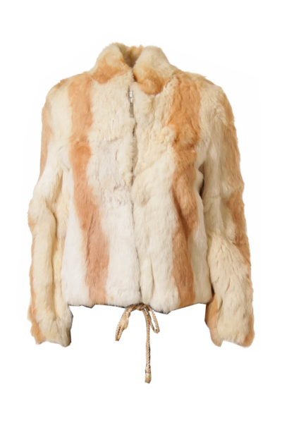 Beige Fur Jacket