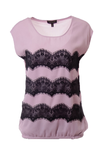 Purple Lace Top