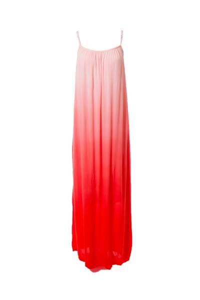 Pink Dyed Maxi Dress