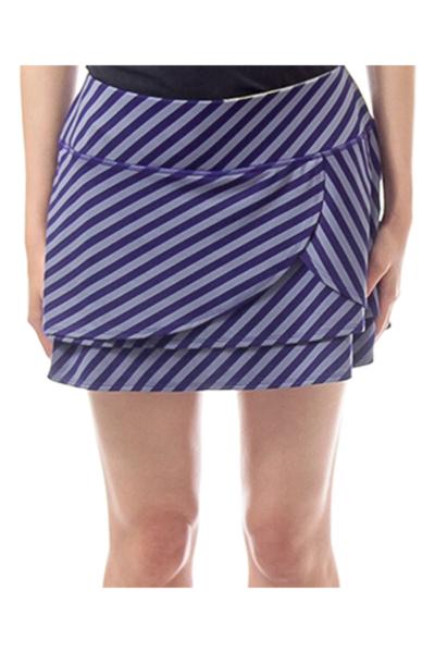 Purple Stripe Skirt