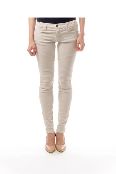 Cream Skinny Jeans