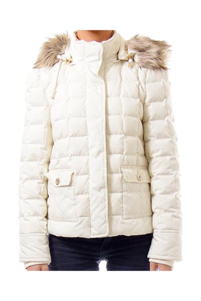 Cream Down Pillow Jacket