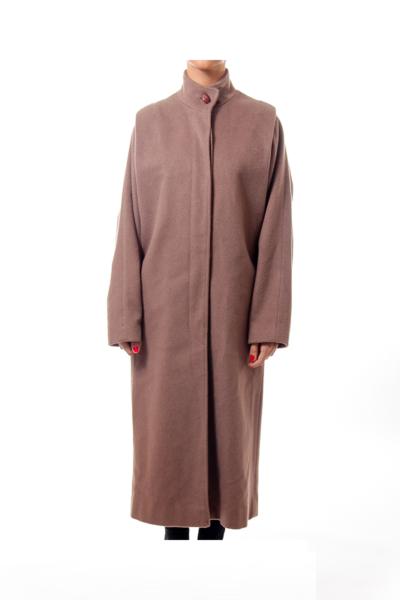 Brown Vingate Wool Coat