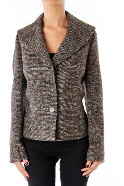Brown Tweed Jacket