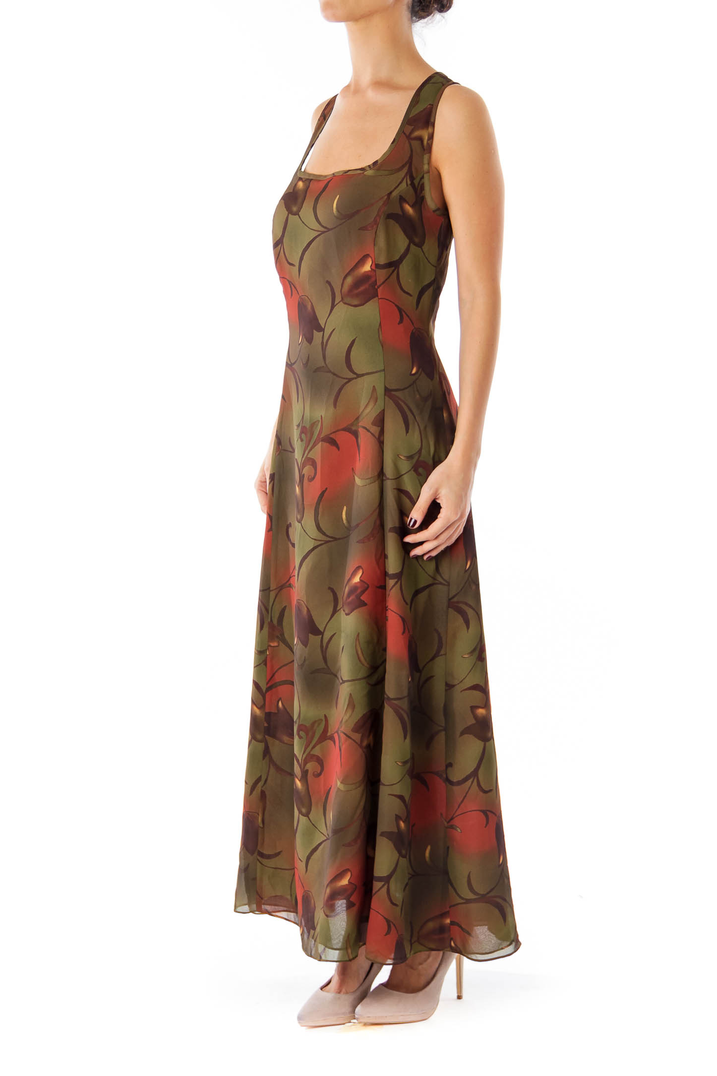 1abc2df3 Banana Republic Leopard Print Maxi Dress | Saddha