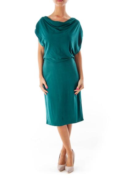 Green Heathered Dress