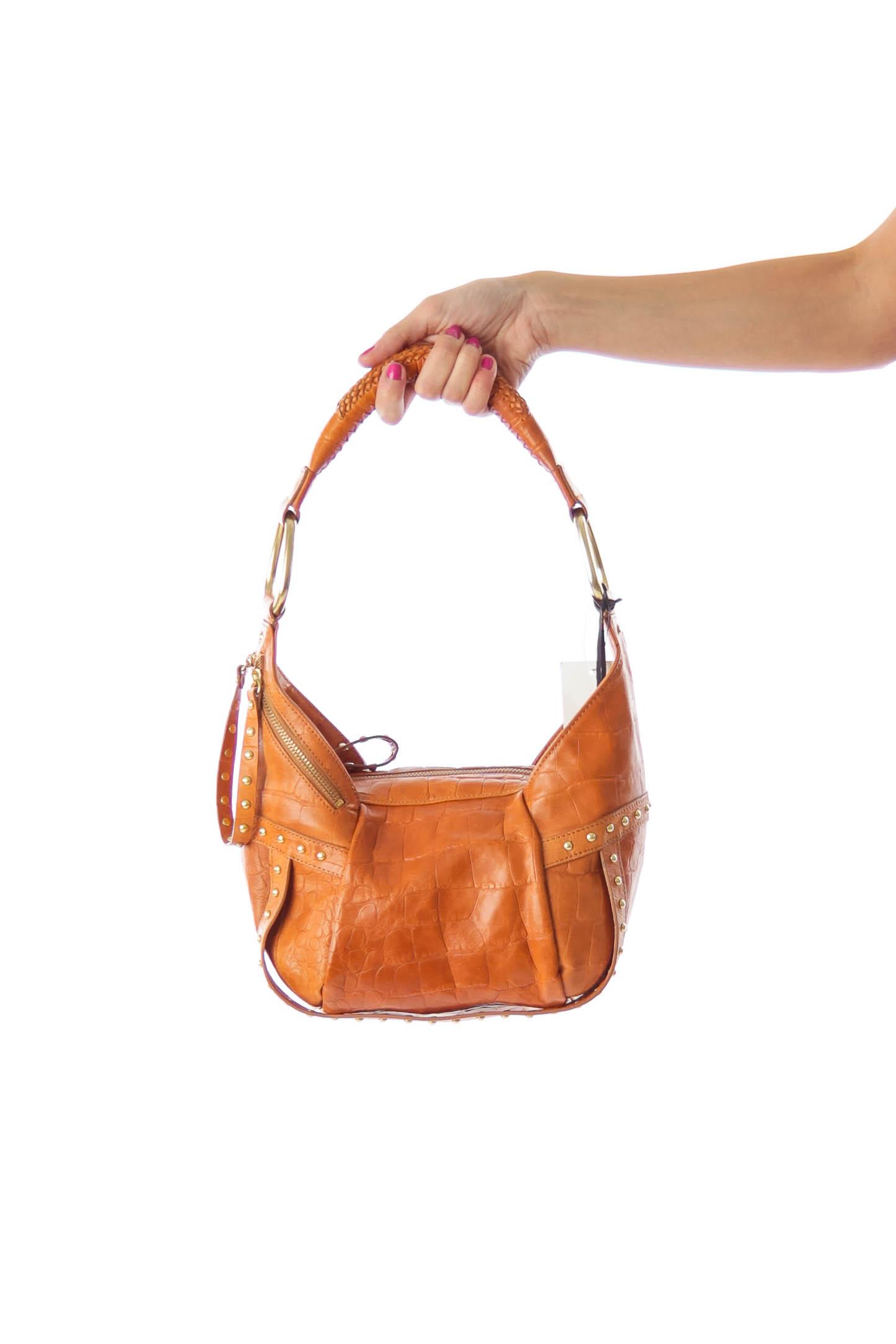 Brown Small Hobo Bag