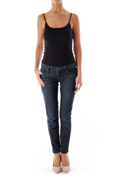 Dark Blue Skinny Denim