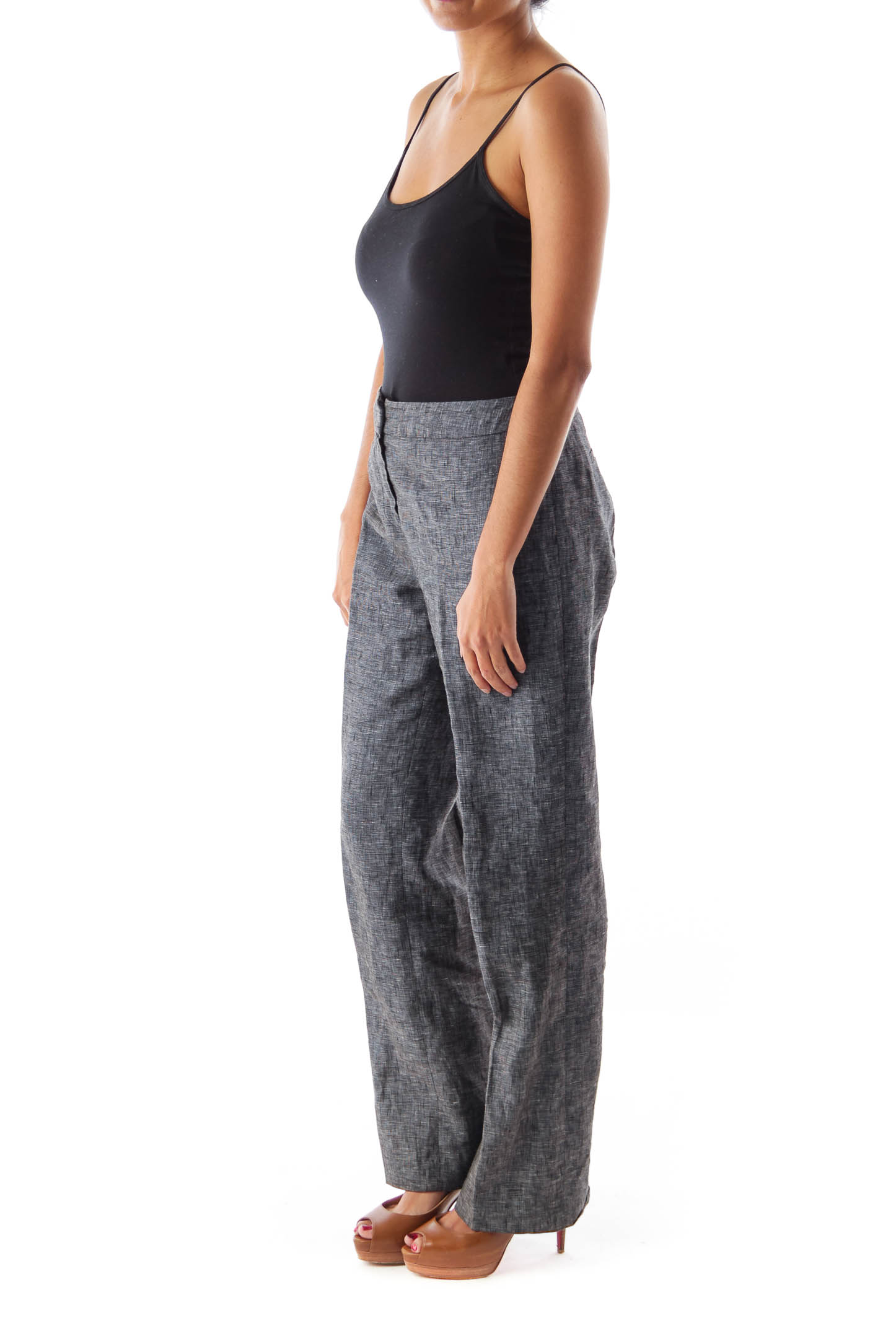 Charcoal Gray Petit Pants