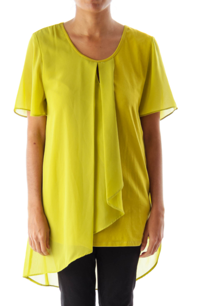 Green Layer Front Shirt