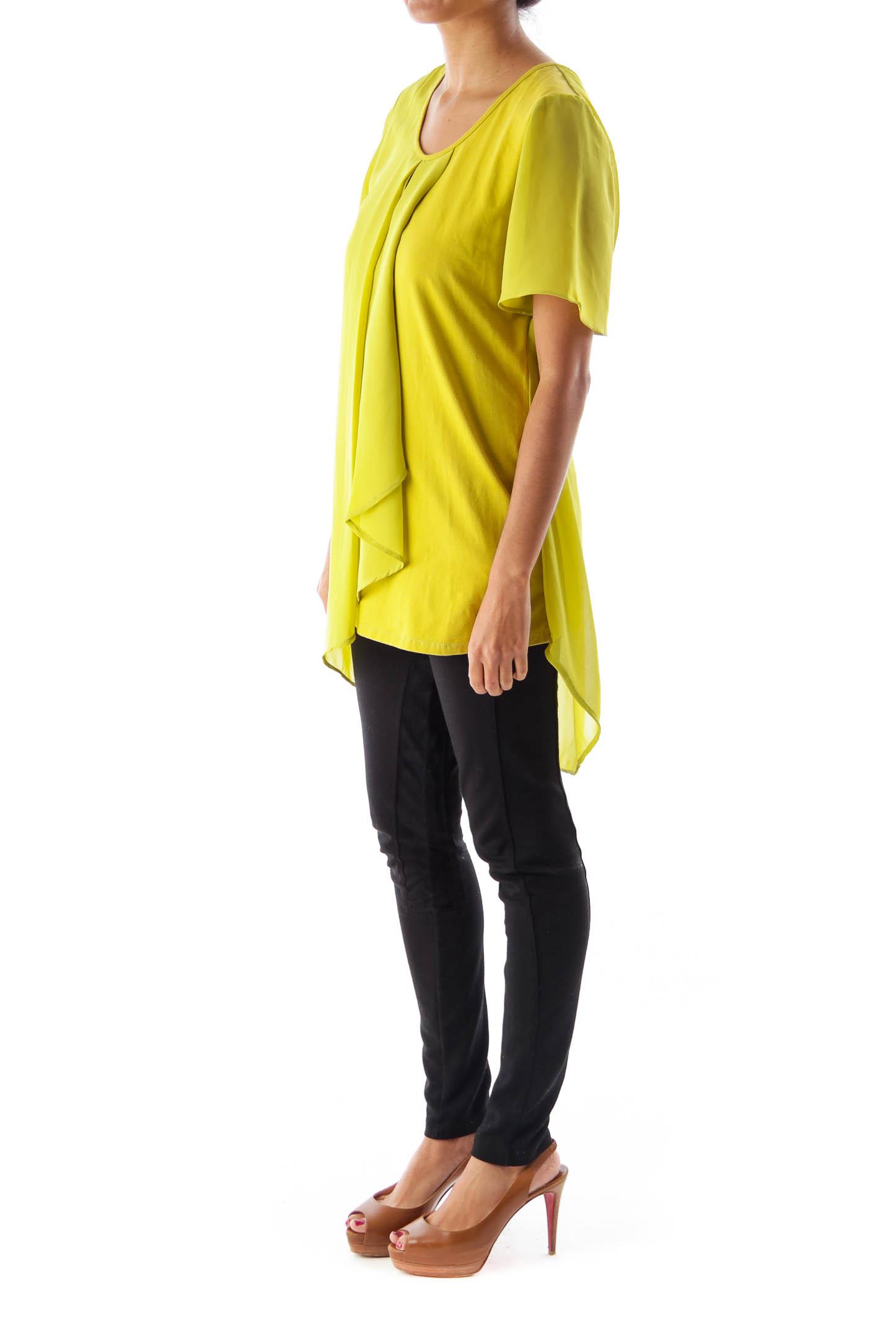 Green Layer Front Shirt