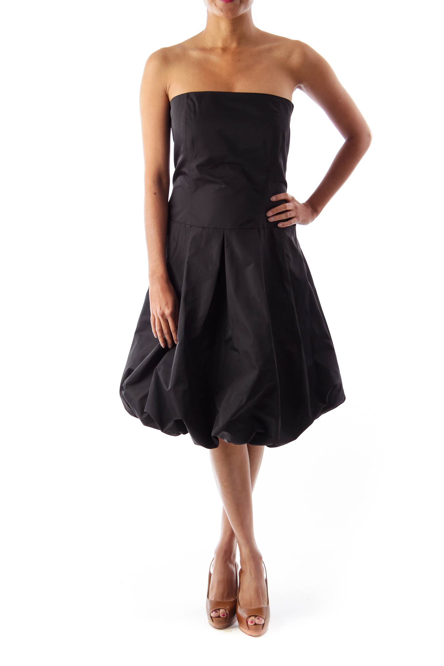 Black Balone Mini Dress