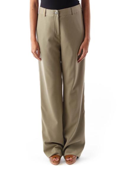 Green Side Stripe Pants