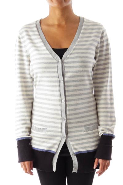 Color Stripes Nautical Sweater