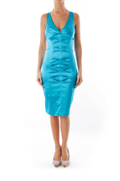 Turquoise Bodycon Dress