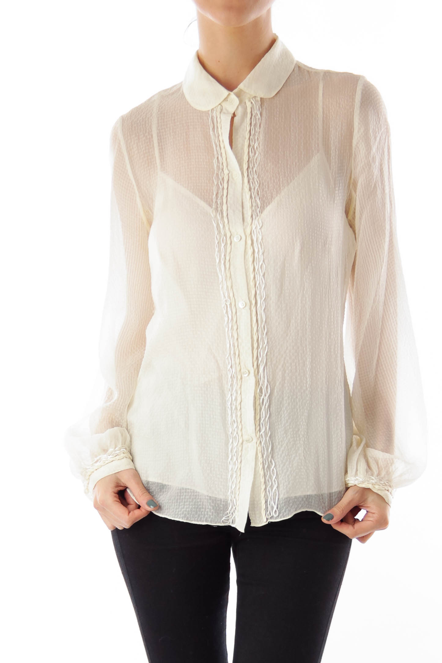 Buy New Womens Plus Size Ivory/Cream Tops at Macy's. Shop the Latest Plus Size Blouses & Shirts for Women Online at xajk8note.ml FREE SHIPPING AVAILABLE! Cuddl Duds Plus Size Softwear Long-Sleeve V-Neck Top $ Free ship at $ Enjoy Free Shipping at $49! See exclusions.