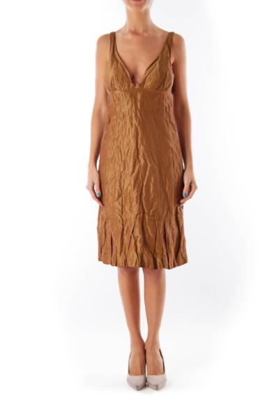 Bronze Balone Dress