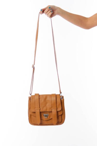 Camel Front Pocket Bag