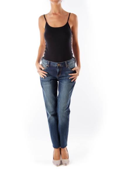 Blue Washed Skinny Jean