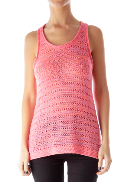 Pink & Purple Crochet Top