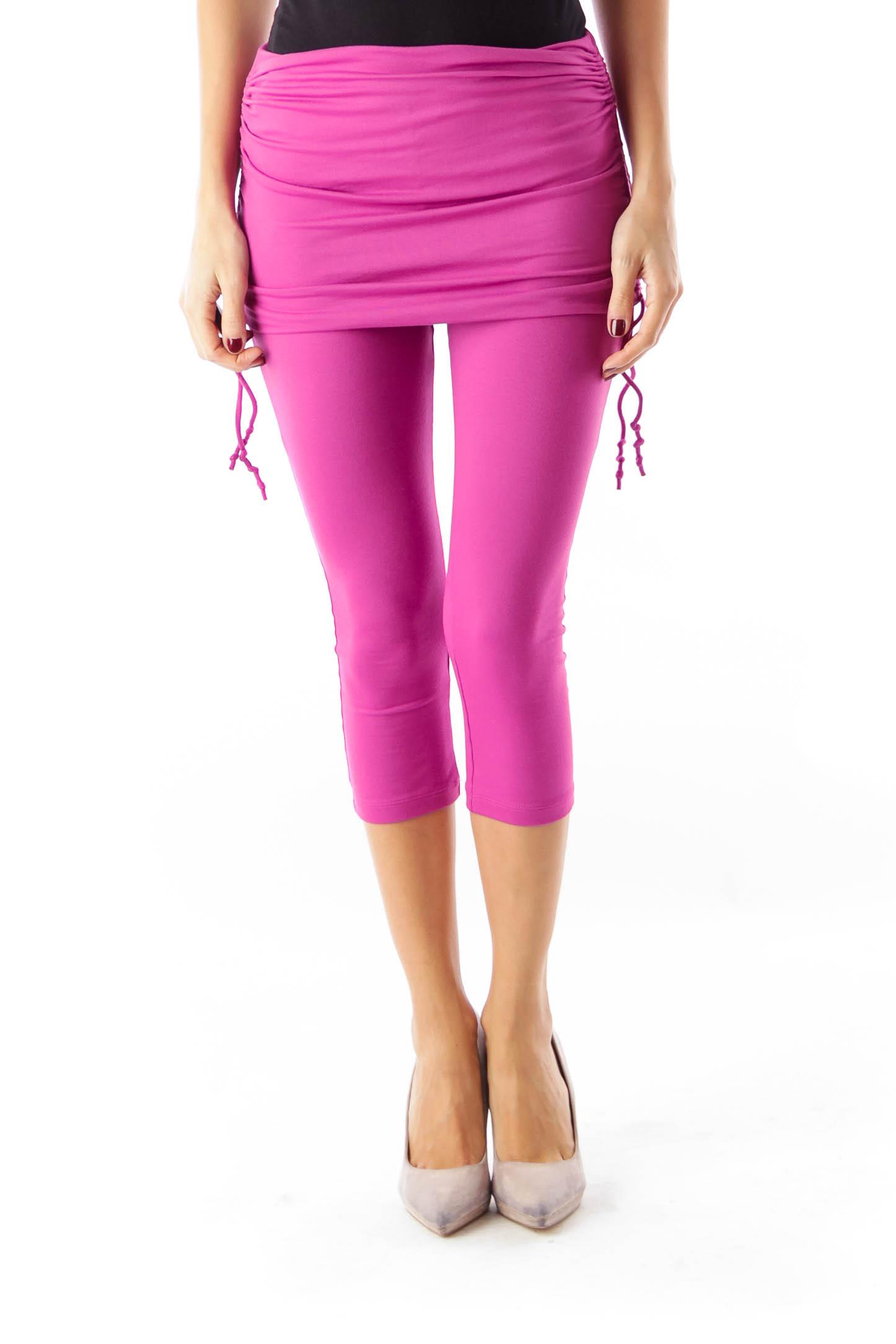 Purple Capri Leggings
