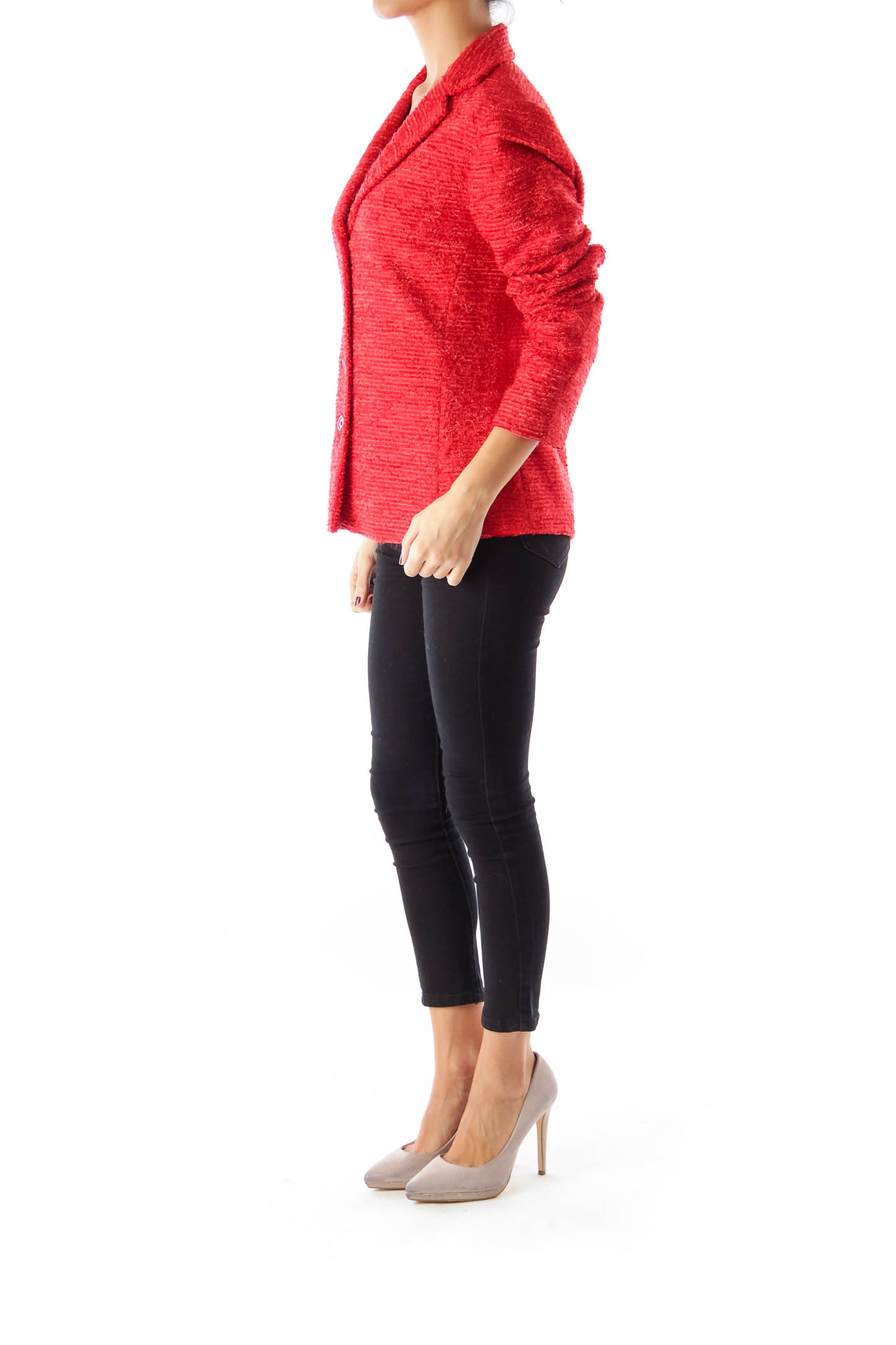 Red Texture Jacket