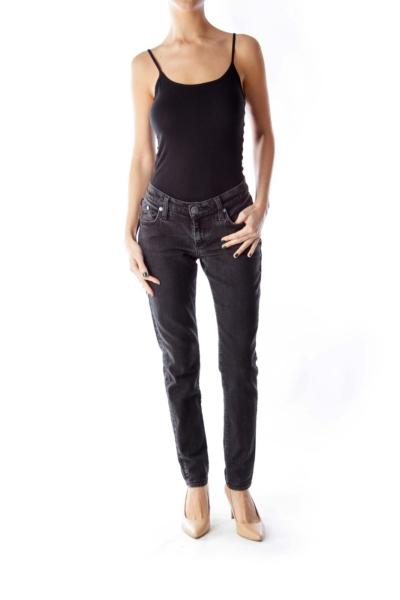 Black Jeanie Skinny Jeans
