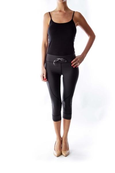 Black Capri Power Pant