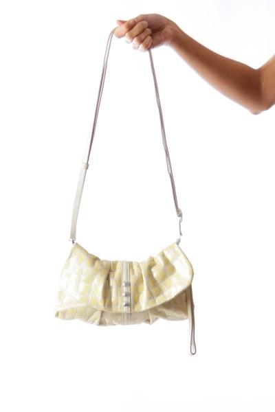 Yellow Croco Bag