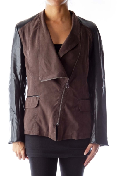 Black & Brown Jacket