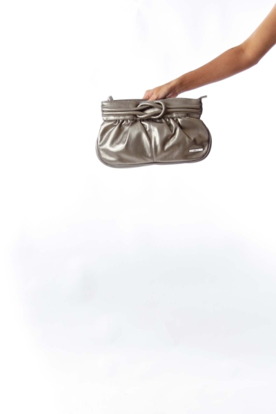 Bronze Knot Clutch