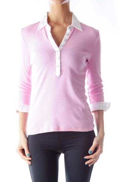 Pink Stipe Shirt