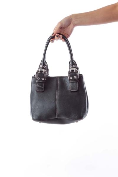Black Mini Leather Bag