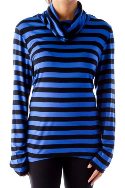 Black & Blue Stripe Shirt