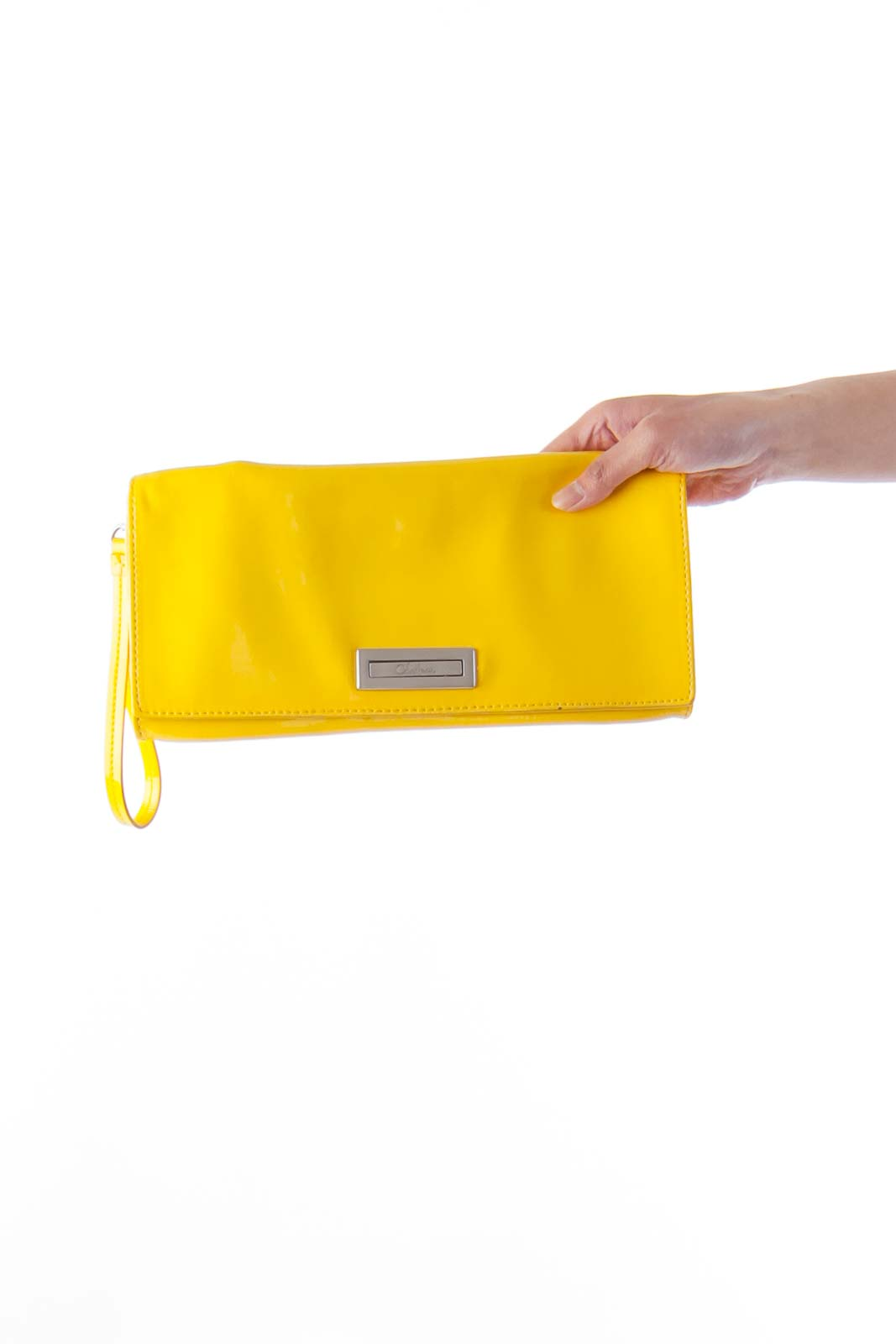 Yellow Varnished Clutch