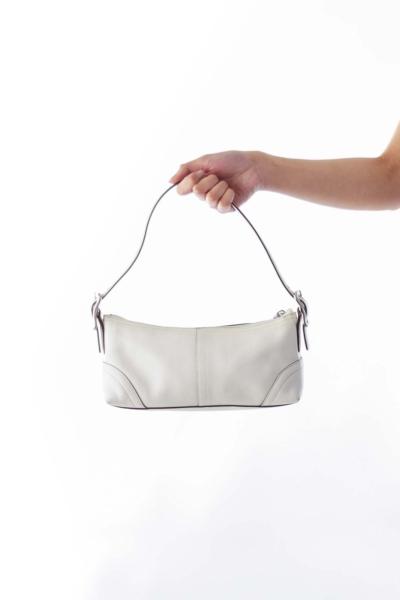 Ivory Tassel Mini Shoulder Bag