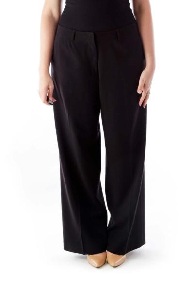 Black Wide Legs Pants