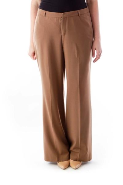 Brown Wide Legs Pants