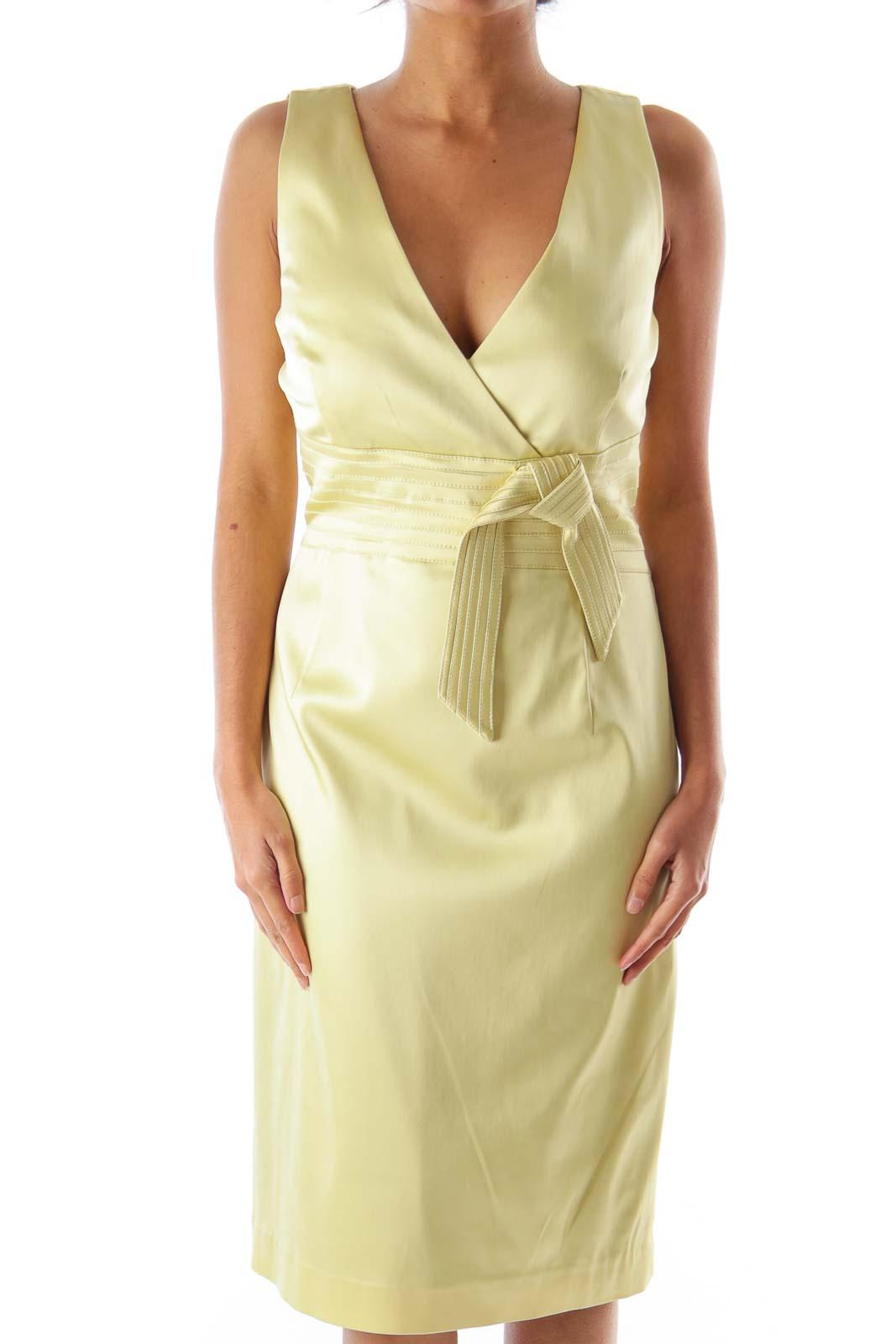 Pastel Green Bow Dress