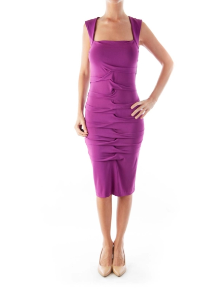Purple Layer Dress