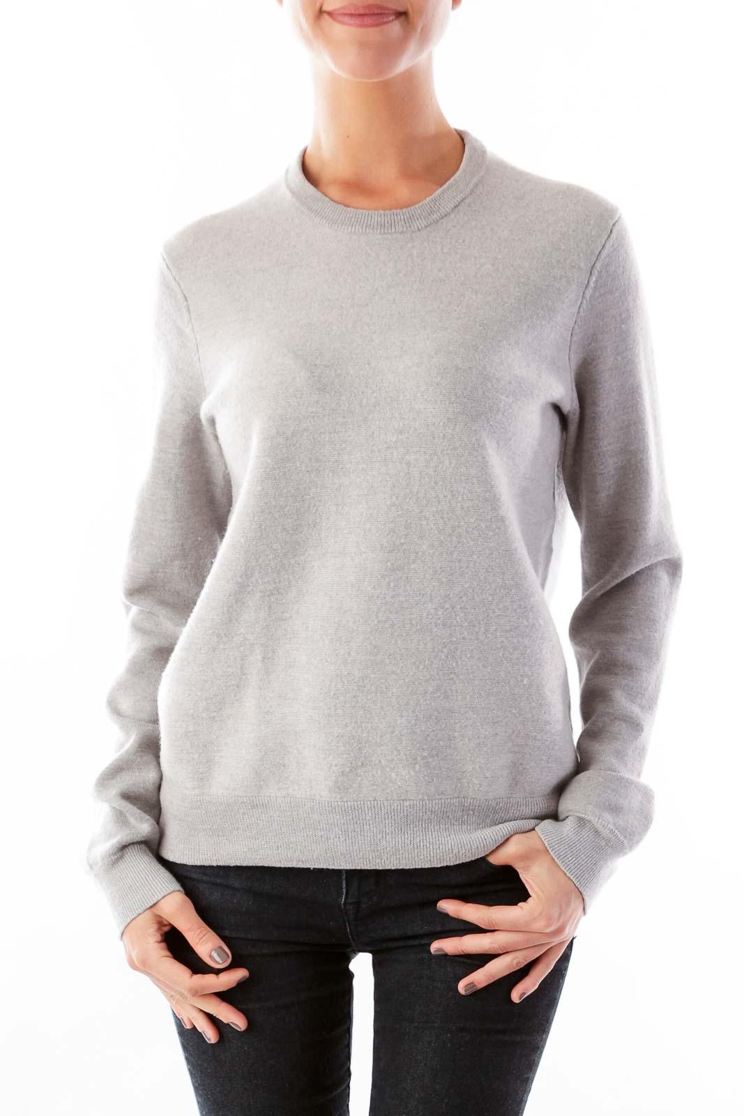 Gray Boyfriend Sweater [M] - SilkRoll