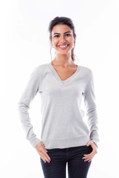 Silver Shine Sweater