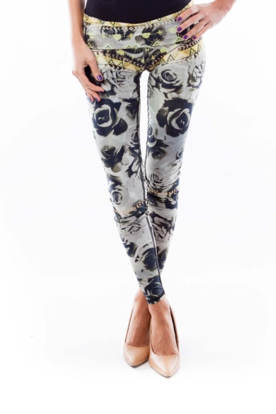 Color Print Sport Pants
