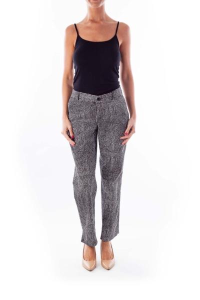 Black & White Print Pants