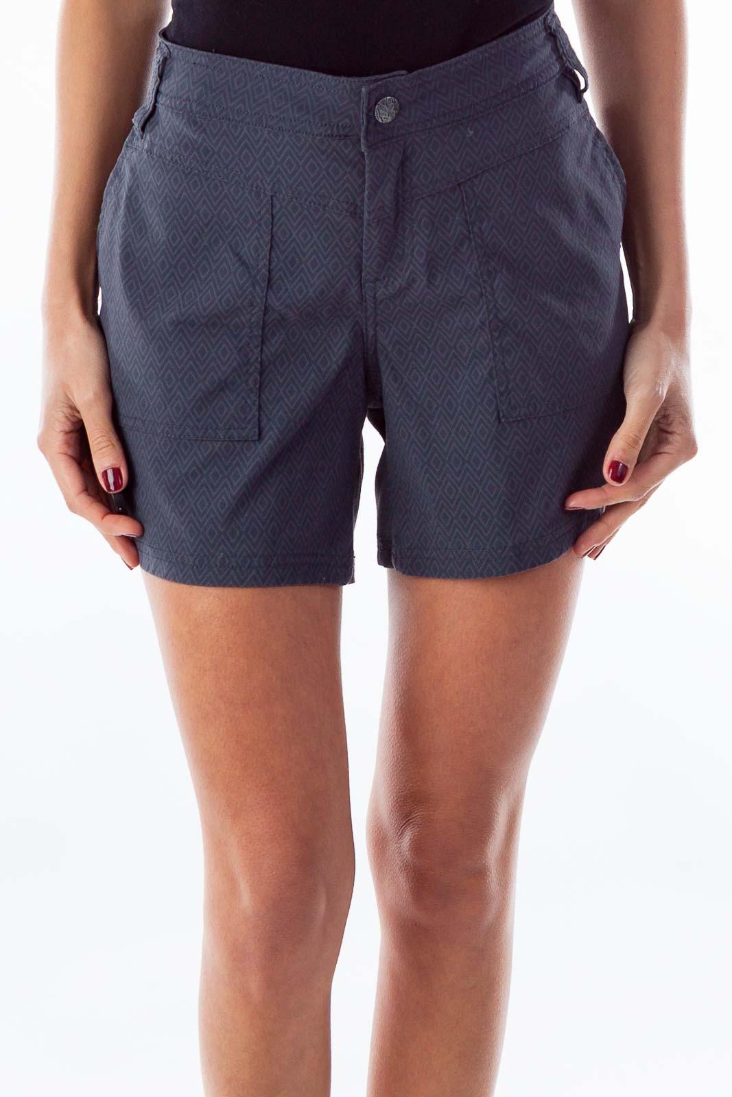 Gray Active Shorts